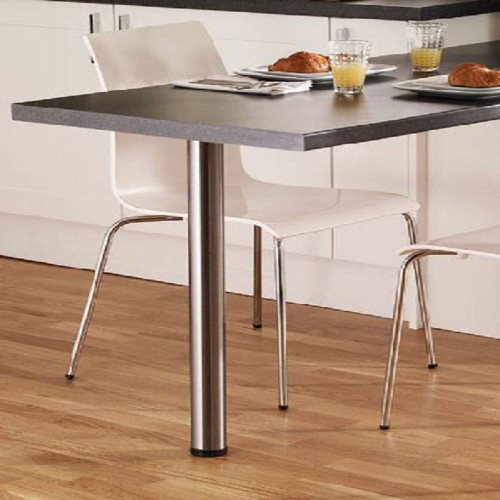 pied de table chrome r glable d60 l1100 pour plan de travail modulocuisine modulocuisine. Black Bedroom Furniture Sets. Home Design Ideas